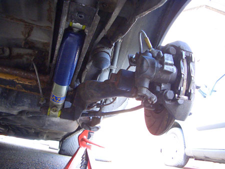 rear beam lowering guide brakes suspension steering 205gtidrivers